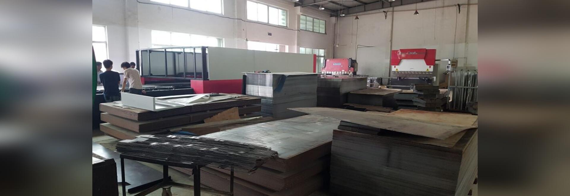 CNC Faser Laser Blechschneidmaschine GF-2040JH Für 20mm Kohlenstoffstahl
