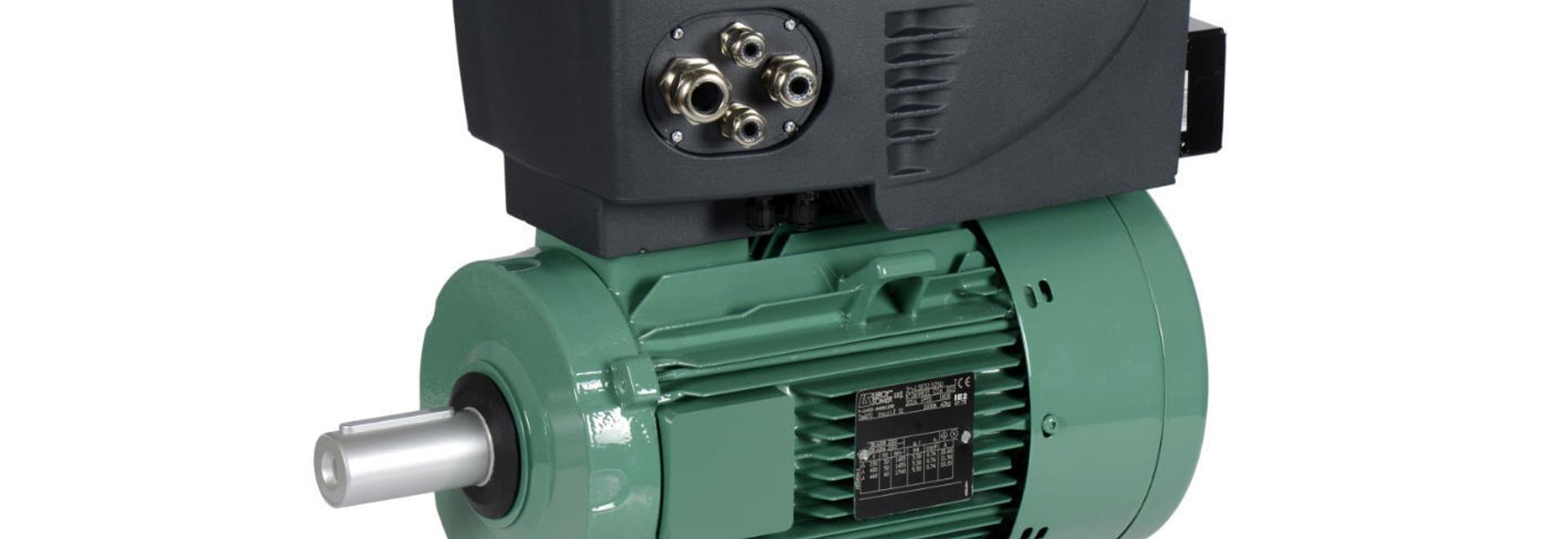 Commander ID300, der neue integrierte Umrichter für IMfinity® Motoren