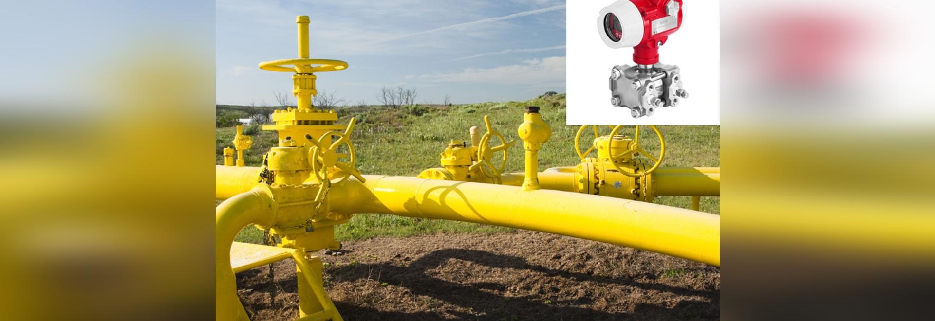 DMP305X-Druckgeber verwendet im Erdgas