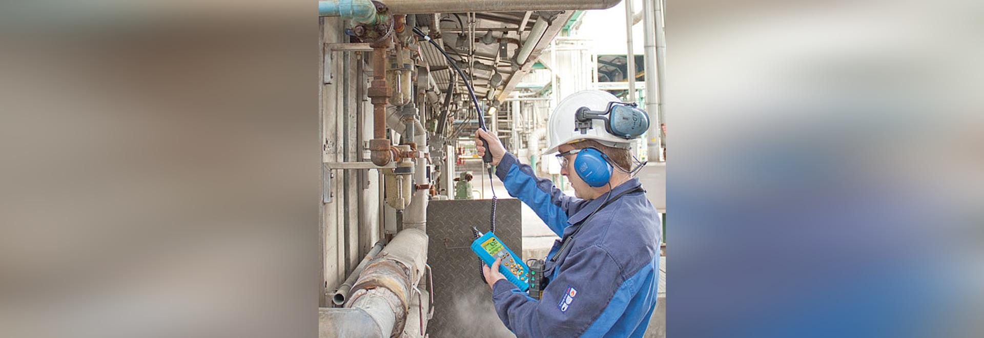 Druckluftnetz überlastet? Eliminieren Sie Lecks mit dem  SDT270-Detektor!