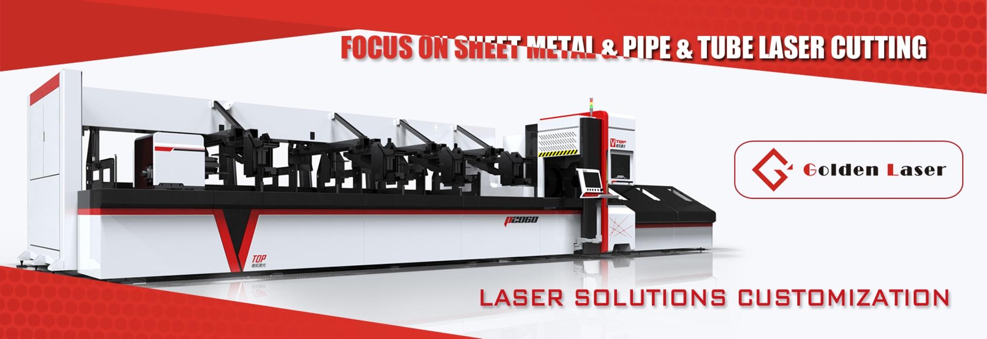 Edelstahl runden Square Tube Fiber Metall-Laser-Schneidemaschine für Büro-Schreibtisch, Anzeigen-Regal