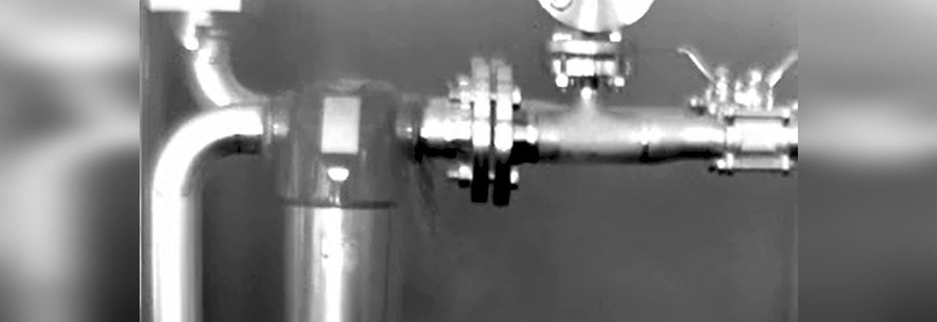 FLIR GF343 ermittelt Hard-to-find Kohlendioxyd-Lecks