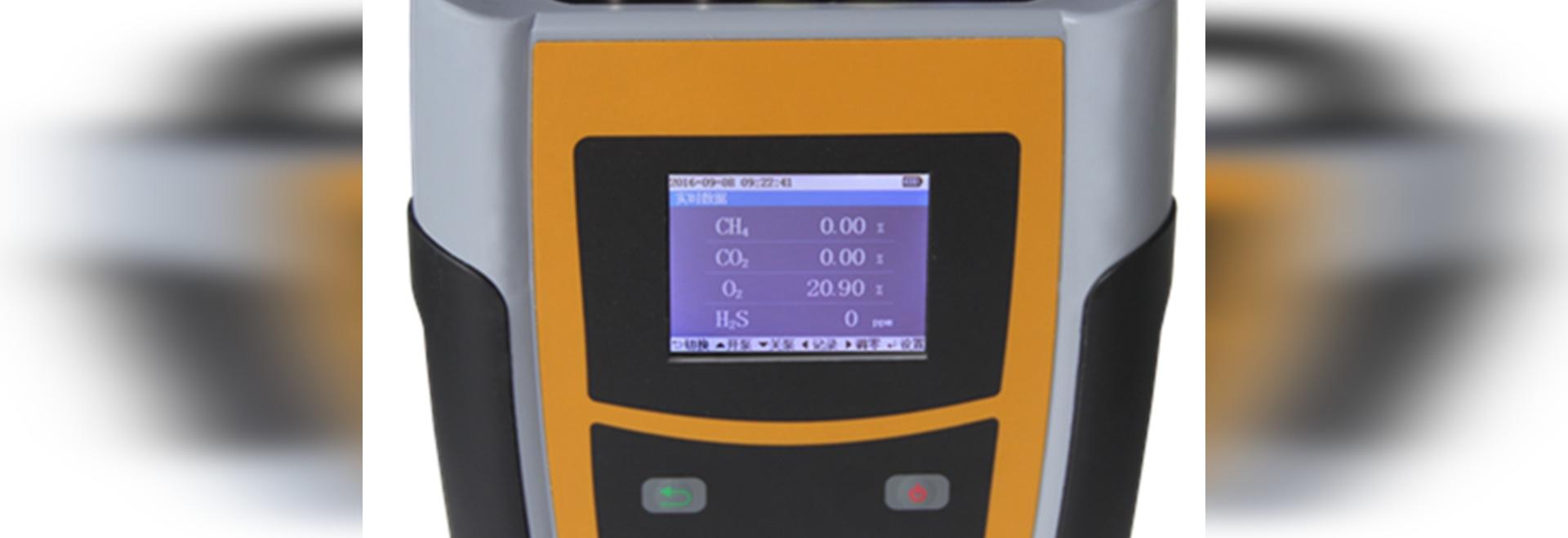 Handinfrarotbiogas-Analysator Gasboard 3200plus