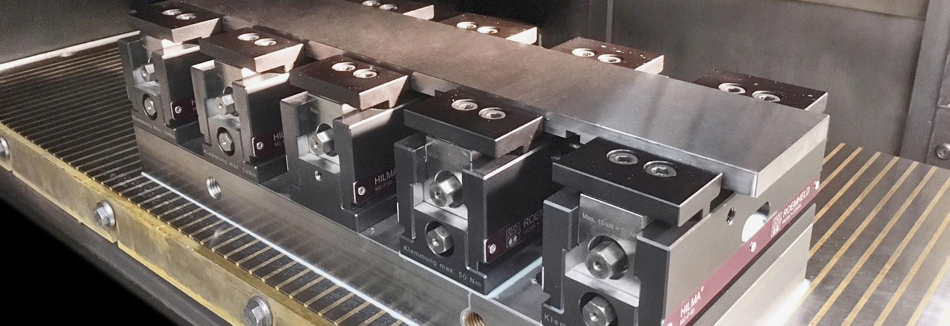 HILMA-Maschinenschraubstöcke der Baureihe MC-P
