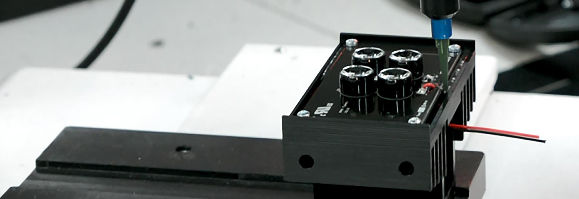 Iluminator-Wohnungsproduktion an GJD mit einem preeflow System.