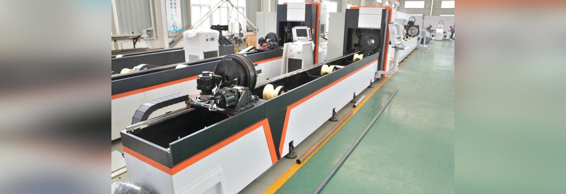 Massenproduktion von automatischen Bündel-Loader Faser-Laser-Metall-Rohr / Rohr-Schneidemaschine von Golden Vtop Laser Faser Laserschneidanlage