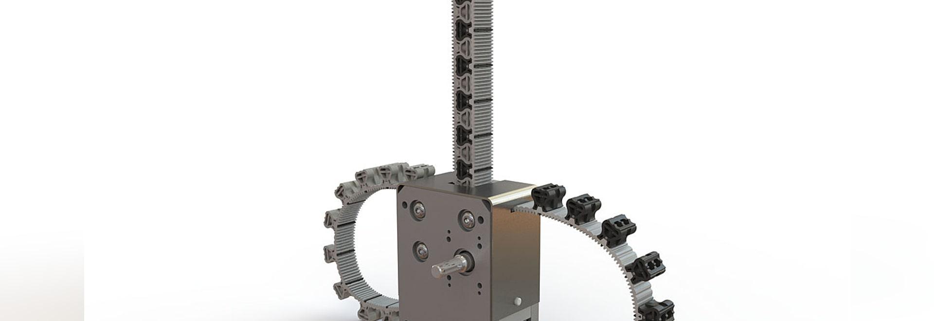 mechanischer Aktuator amagnetische Rigibelt