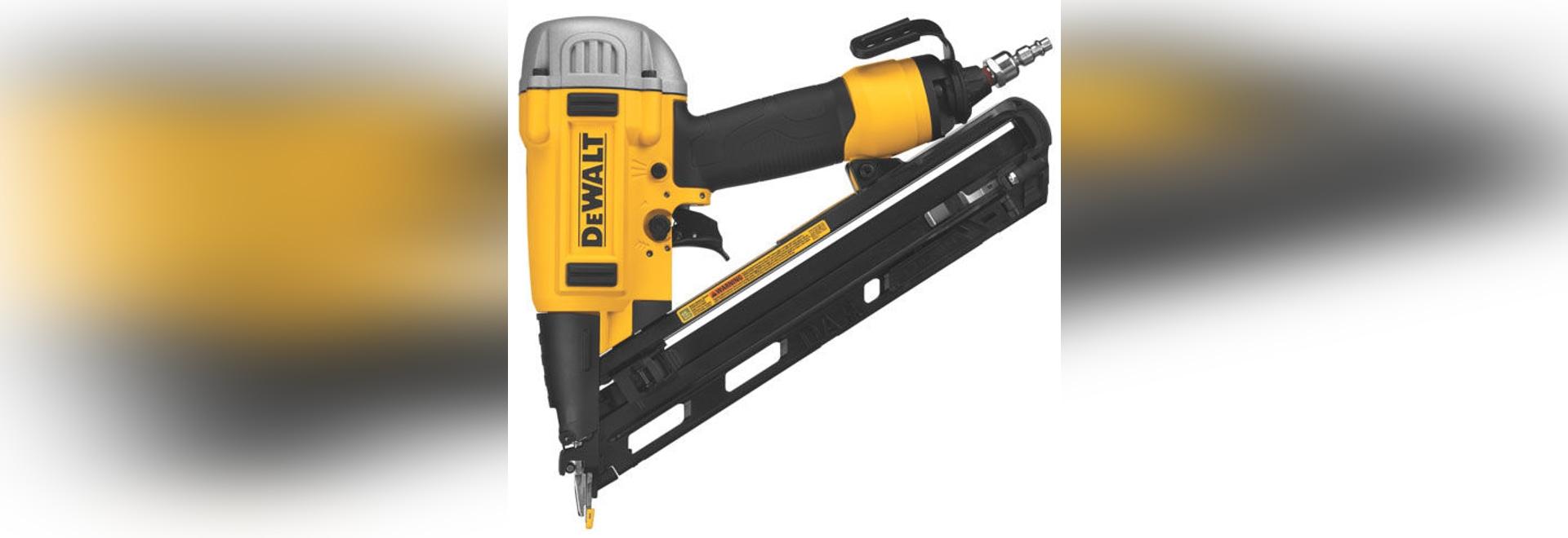 NEU: pneumatische Nagelgewehr durch DEWALT industrielles Werkzeug ...