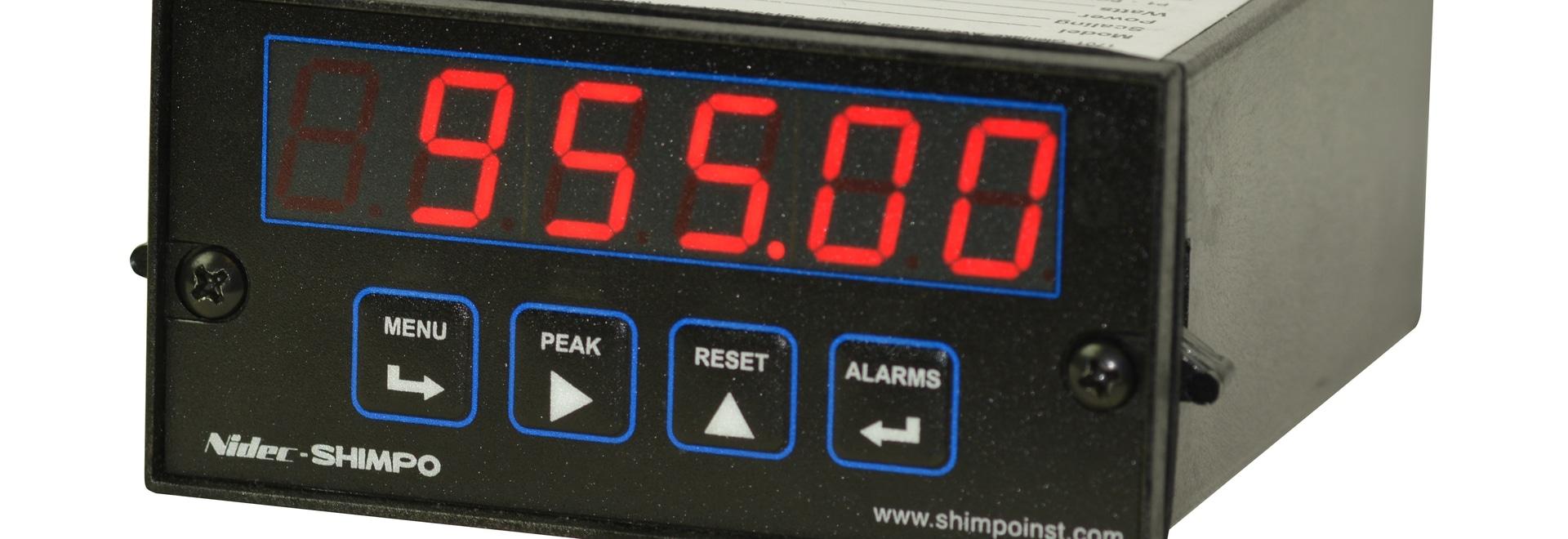 NEUE Prozessplatten-Meter SHIMPO P.M.