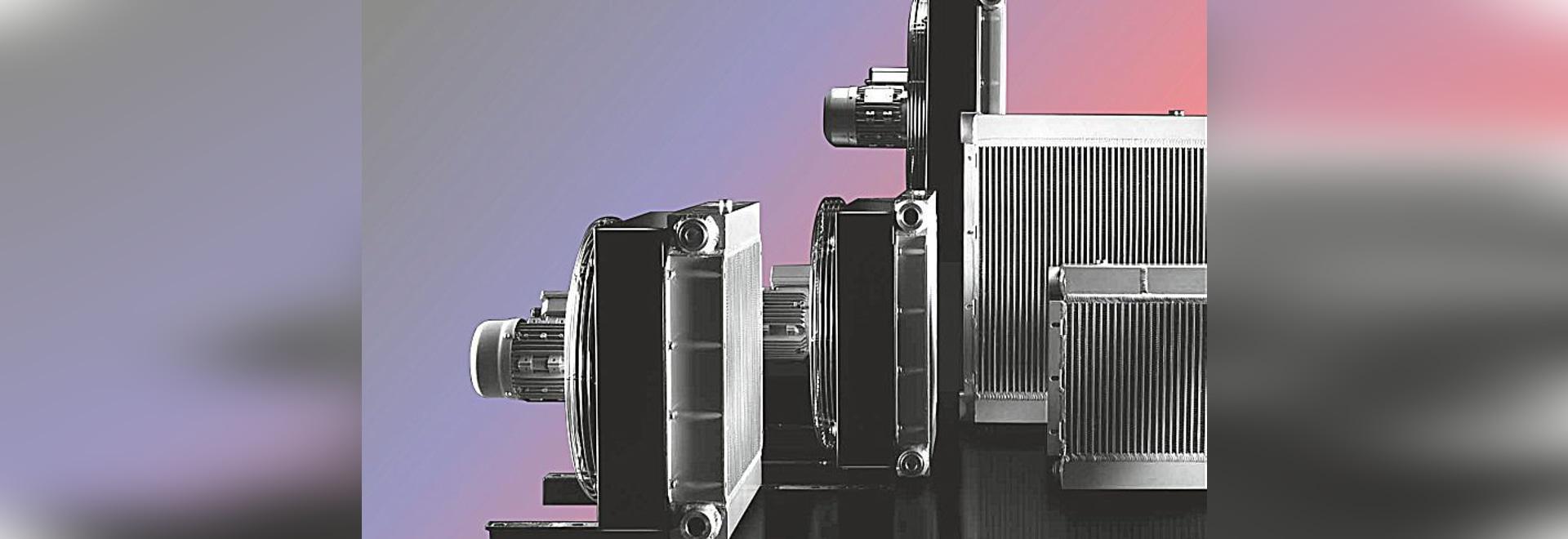 Öl-Luft-Kühlvorrichtungen