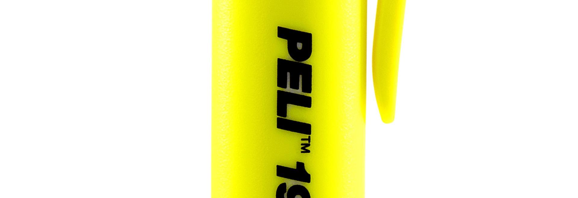 Peli präsentiert seine schmalsten AAA ATEX Zone 0&1 Taschenlampen: 1975Z0 & 1975Z1 LED-Stiftlampen