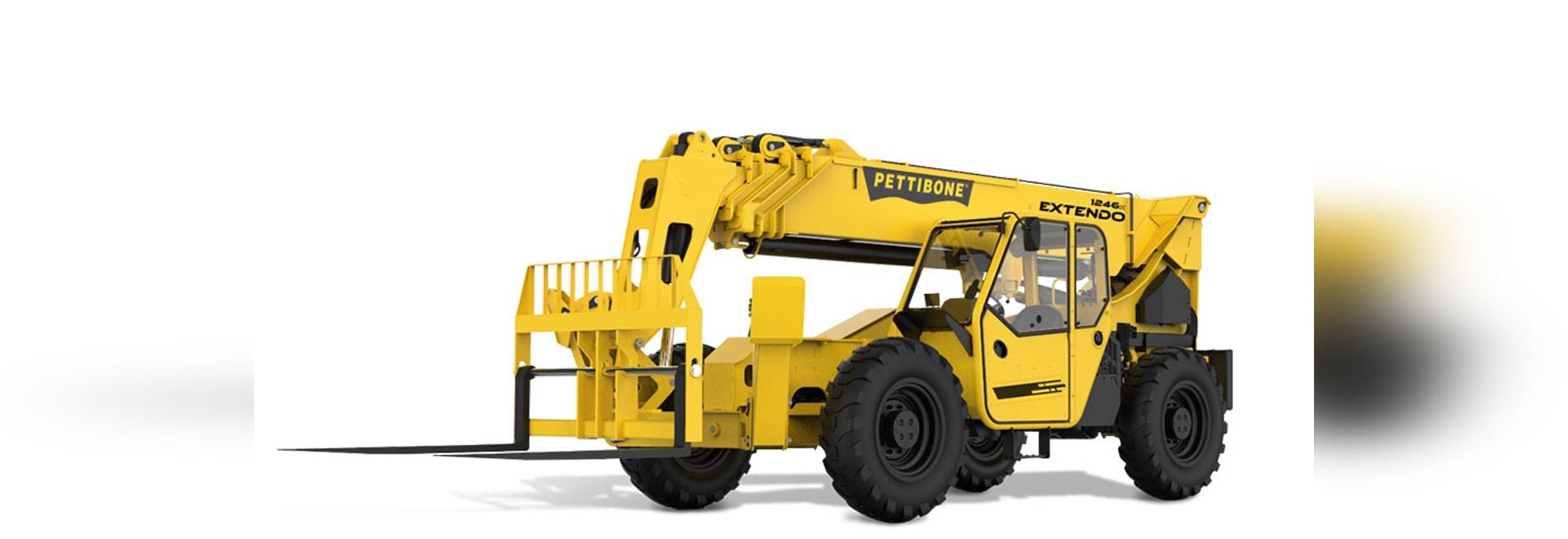 Pettibone-Durchquerung T1258X Telehandler