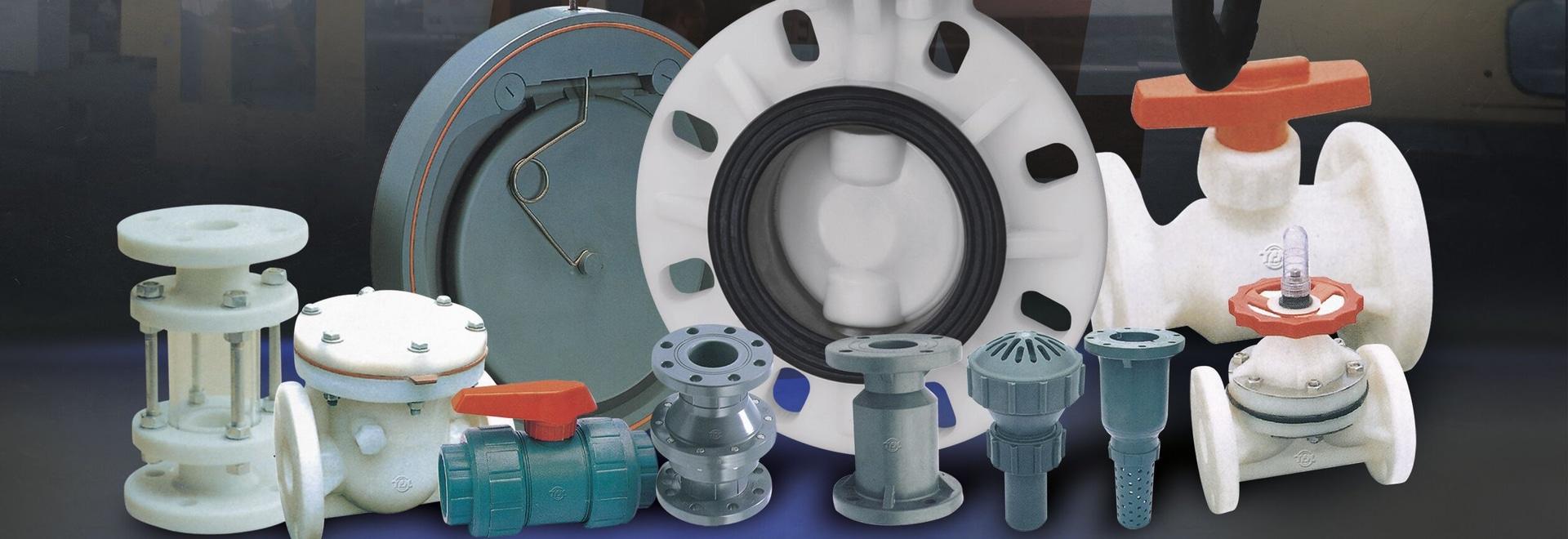 Plastikventil PVDF PVCs RPP