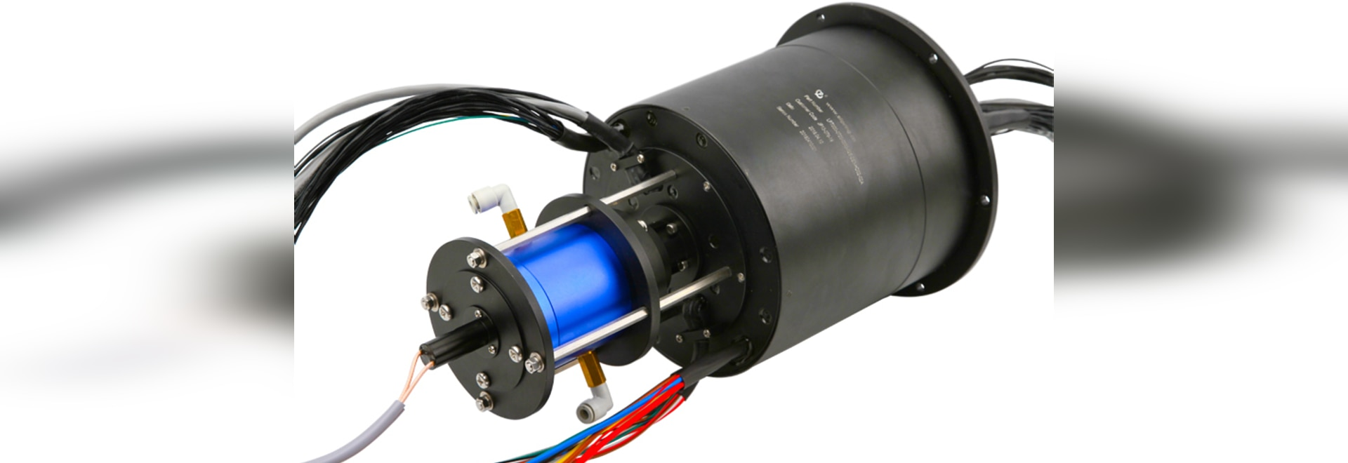 Pneumatisches hydraulisches und elektrisches integriertes Drehgelenk