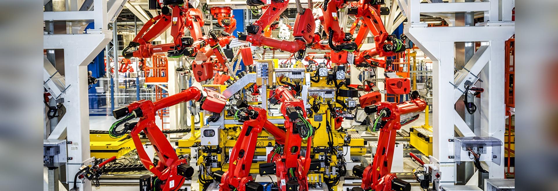Roboter auf dem Aufstieg