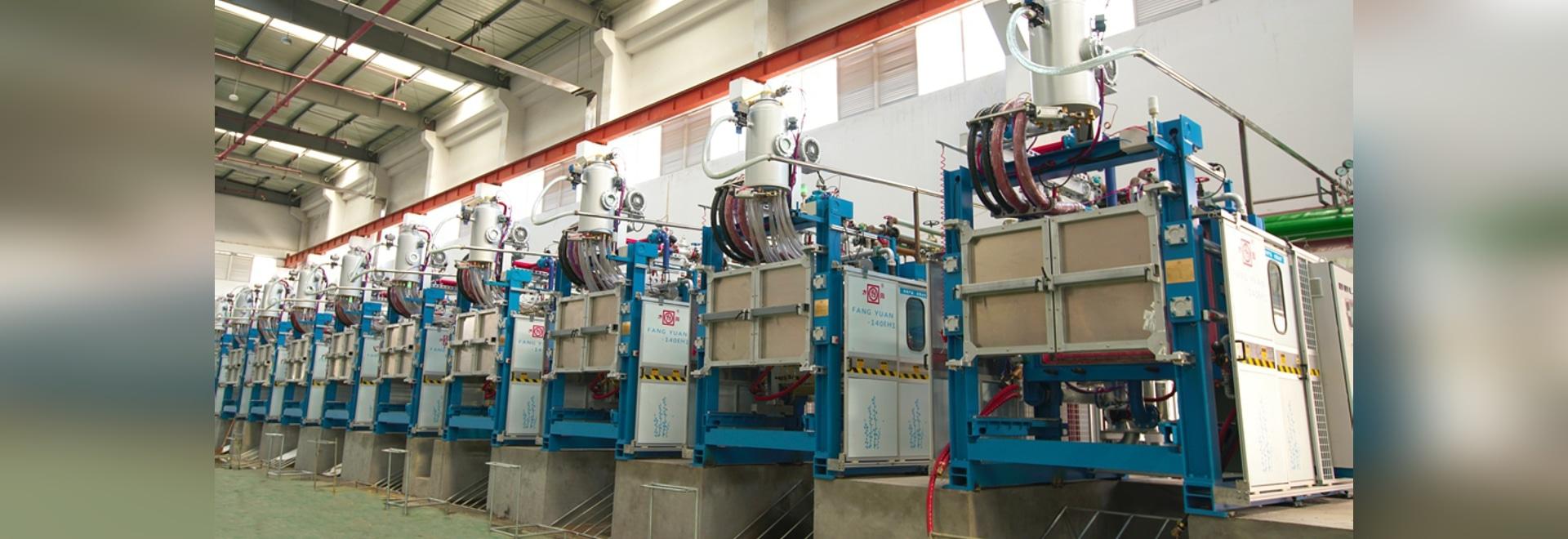 Schaumkunststoffformteilmaschine ENV/für erweitertes Polystyren/für erweitertes Polypropylen