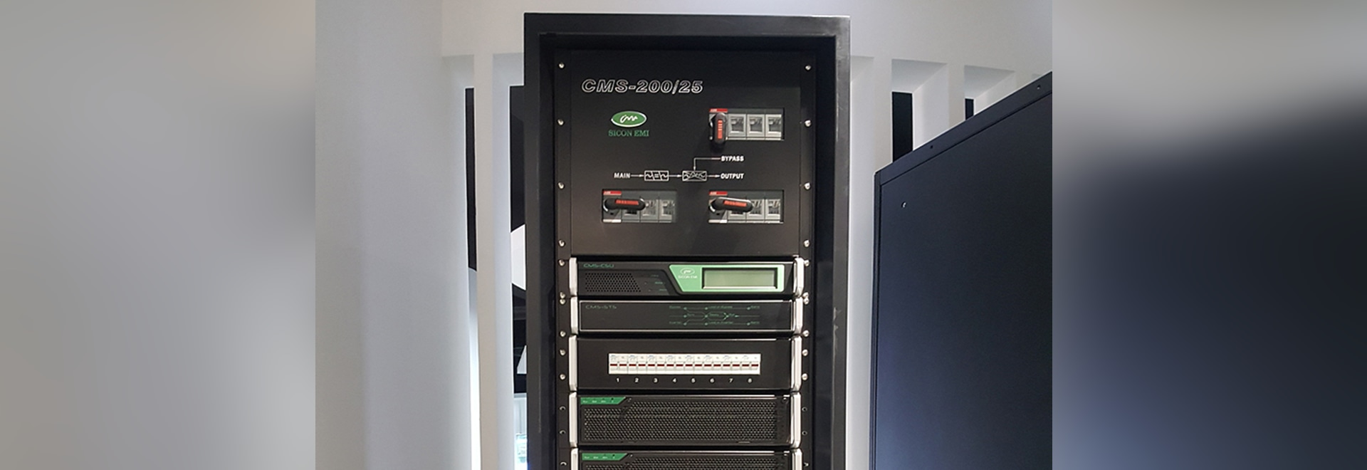 Sicon modulares UPS installiert in Peking-Gas-Gruppe