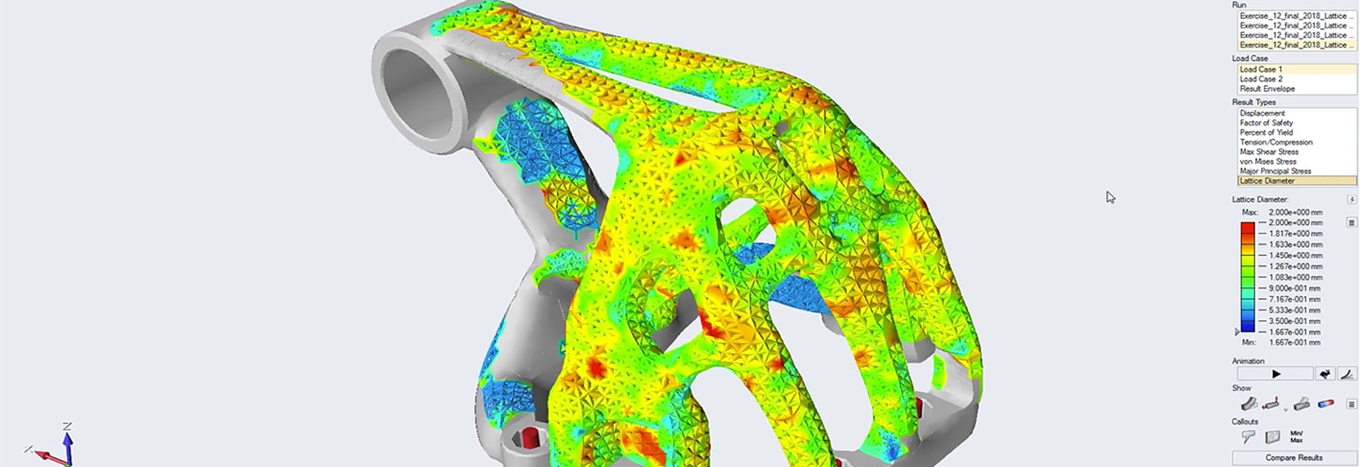 Simulation-gesteuerte Entwurfs-Software