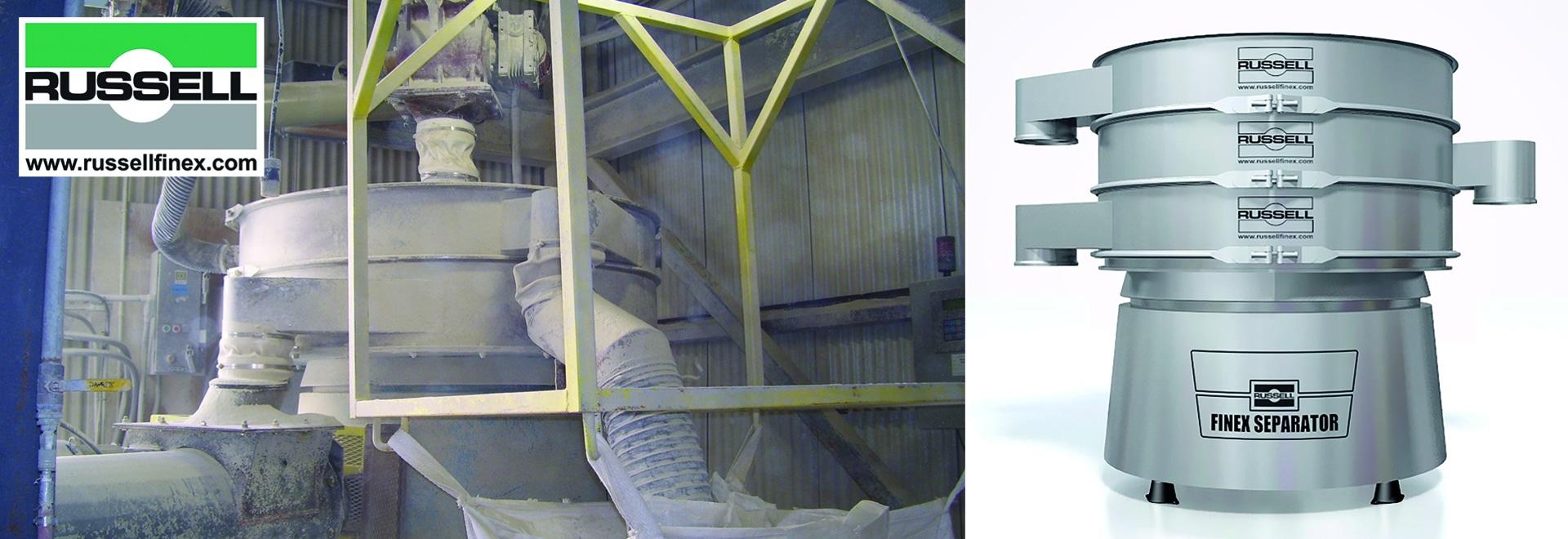 Sortieren von Ton und anderen Industriemineralien