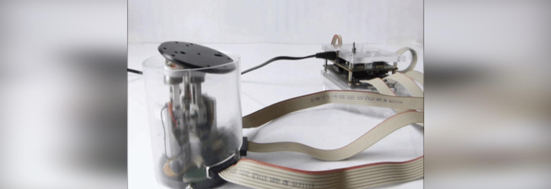 TrAC: Ein piezo Auslöser für Weltraum und Mikroroboter
