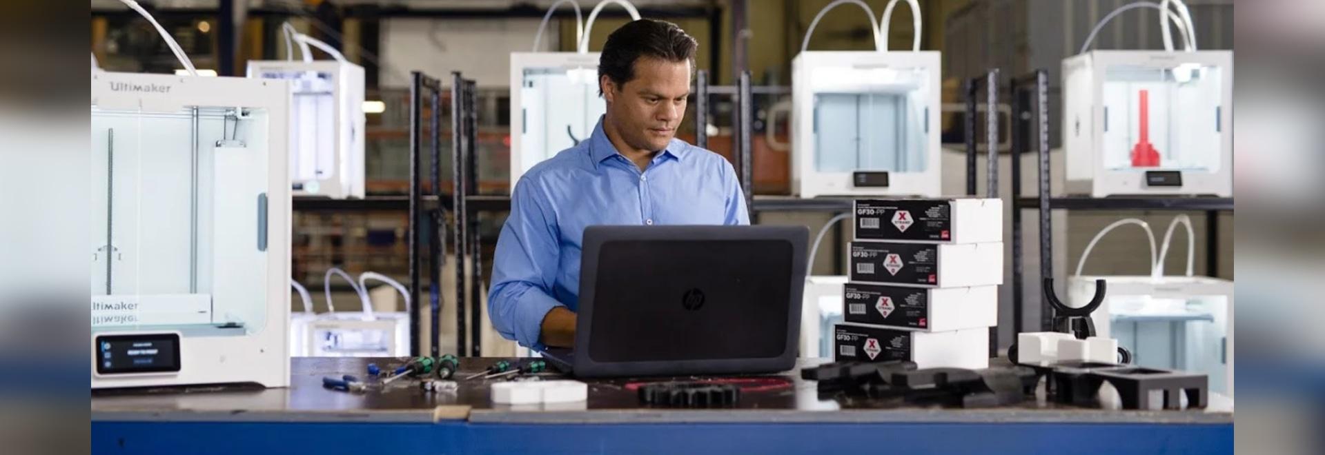 Ultimaker stellt neuen materiellen Profil-und roten 0,6 Druck-Kern cm für industriellen Gebrauch vor
