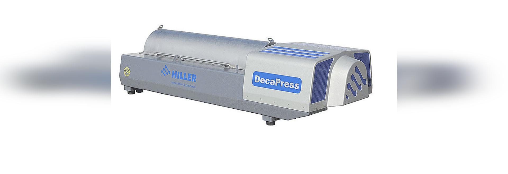 Weftec 2014 Hiller Decanter DP484