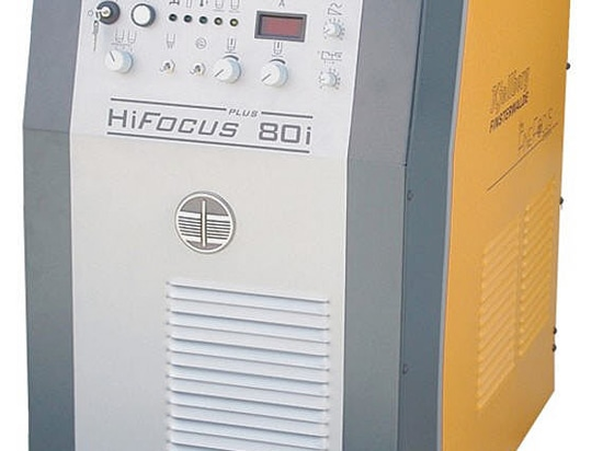 CNC-geführte und mechanisierte Plasmatechnik - HiFocus 80i