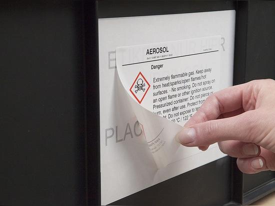 cab labelbase: Etiketten aufkleben und rückstandsfrei wieder entfernen