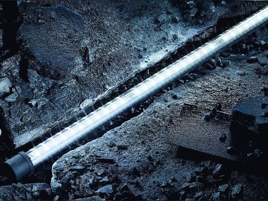 LED-Rohrleuchte von R. STAHL trotzt absoluten Extrembedingungen