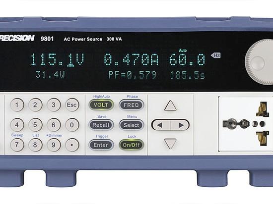 B&K Präzision startet neue Wechselstrom-Quelle mit Stromleitung Störungs-Simulator