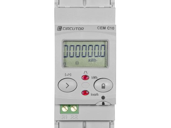 Neue Palette von modularen CEM-Elektrizitätszählern