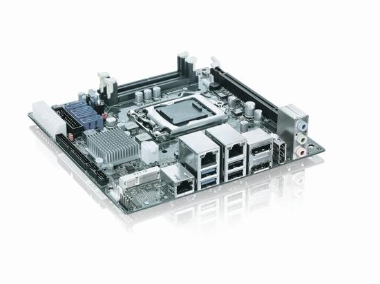 Neues Kontron bettete mITX Tischplattenmotherboard - ausgedehnte Eigenschaften und höhere Leistung im Miniformat ein