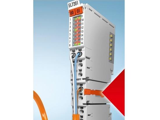 Servoanschlüsse EtherCAT mit STO-Funktionalität