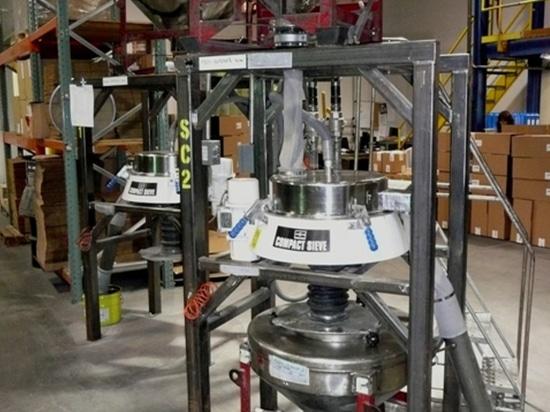 Metall pulverisiert Siebdruckeinrichtung
