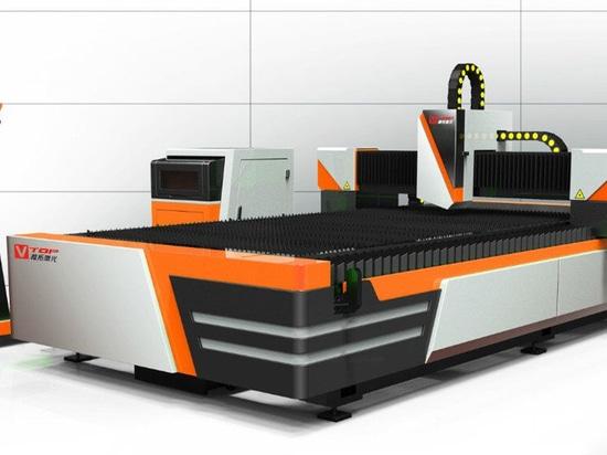 Neue Modell Ökonomische Open-Typ Faser Laser-Blech Schneidemaschine von Golden Vtop Laser