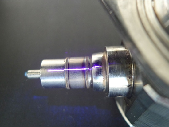 Laser-Schweißungs-Naht auf TanksäuleVentilkörper