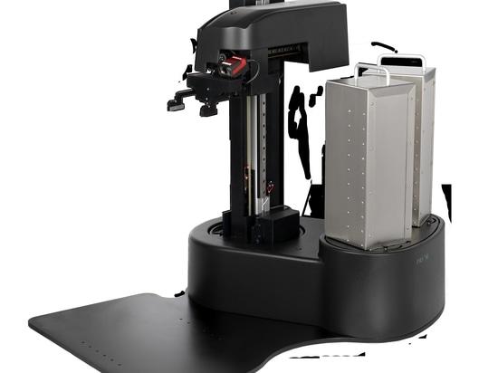 Robotermikroskop Microplate-Lader benutzt, um die Löslichkeits-Prüfung zu automatisieren