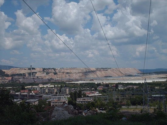 Wetter-beständige Telefone sind in eine der größten europäischen Kupferminen - RTB Boriin in Serbien installiert worden