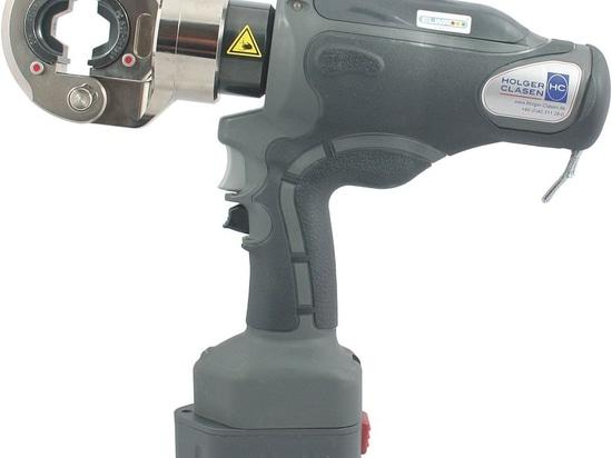 PressMax® 6 Battery-operated hydraulic crimping tool® 10 Akku-hydraulisches Presswerkzeug