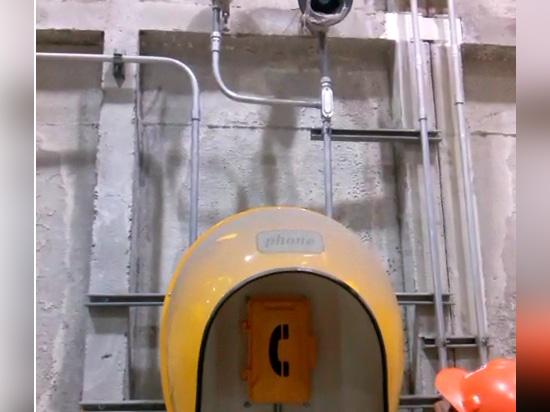 Die Installation und die Beauftragung von JR101-FK-Y-HB analogen Telefonen in cm-Baja California III