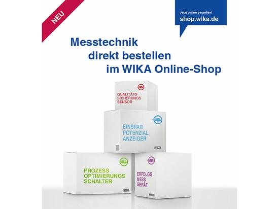 Kennwort: WIKA Online-Shop