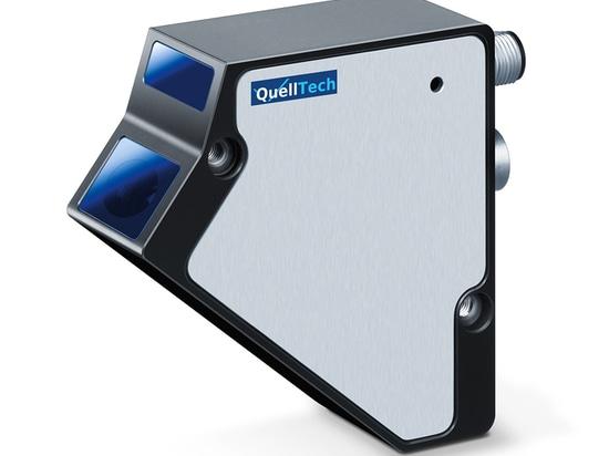 Blau QuellTech Laserlesegeräts Q4-5