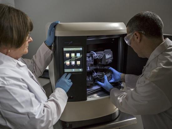 Verdampfungsprobenaufbereitung für Massenspektrometrie
