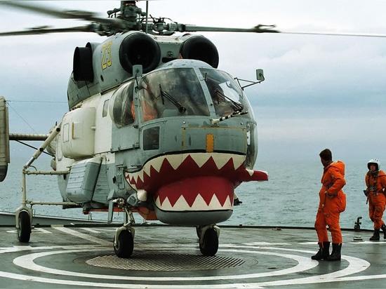 Hubschrauber Ka-27