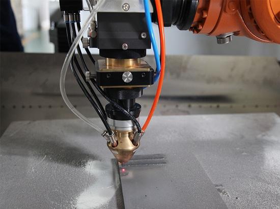 In die Hauptmaschinenfabrik in die Laser-Schweißensausrüstung HANS GS