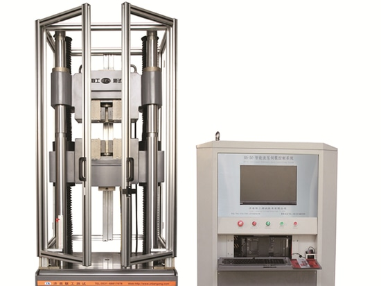 WAW-E Reihen-Rechnersteuerungs-elektrohydraulische Servouniversalprüfmaschine