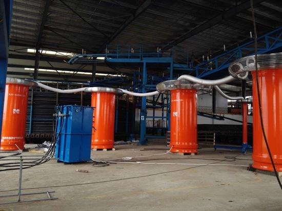 Fabrikprüfung Stromkabels 220kV PowerHV- 34km