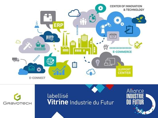 "Gravotech ist labellised ""Vitrine Industrie du Futur"""
