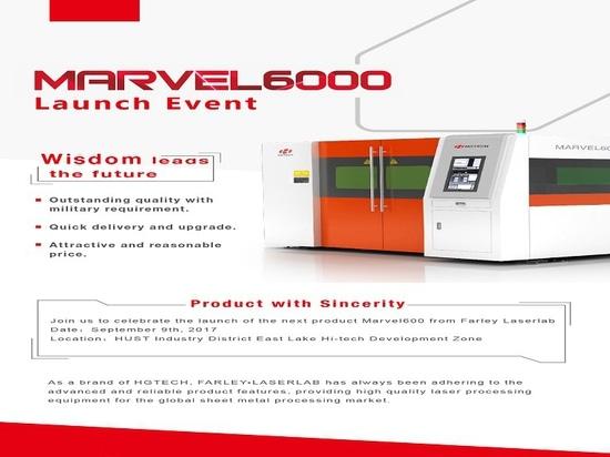 Ereignis der Produkteinführungs-MARVEL6000