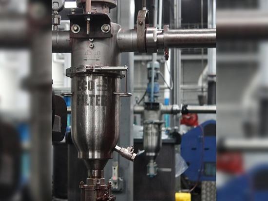 Automatisches industrielles Sieb